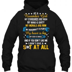 As A November Girl Awesome For Women Hoodie