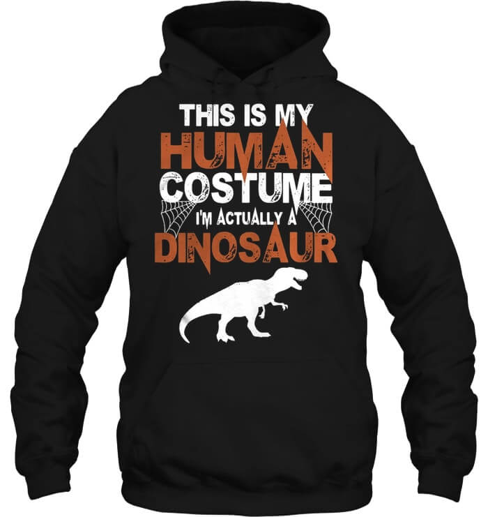 This Is My Human Costume hoodie