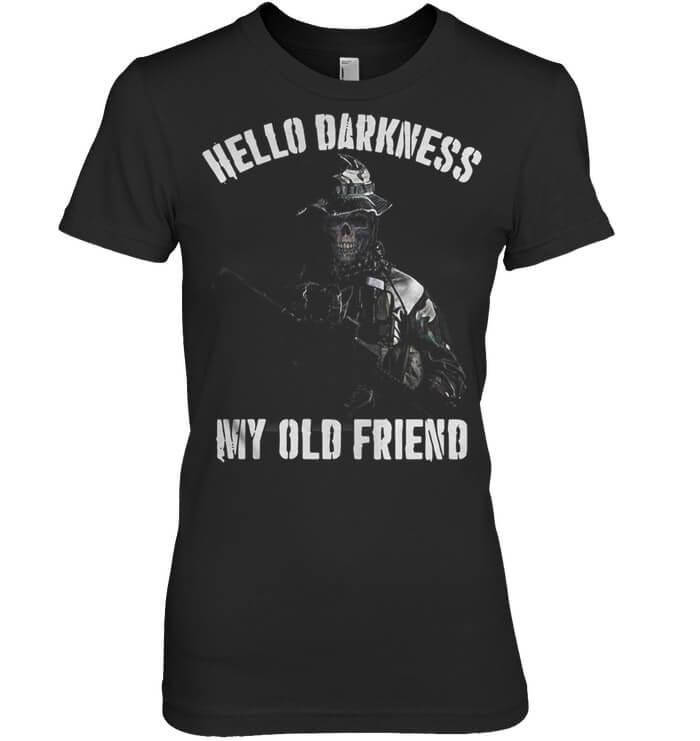 Veteran Hello Darkness My Old Friend for women