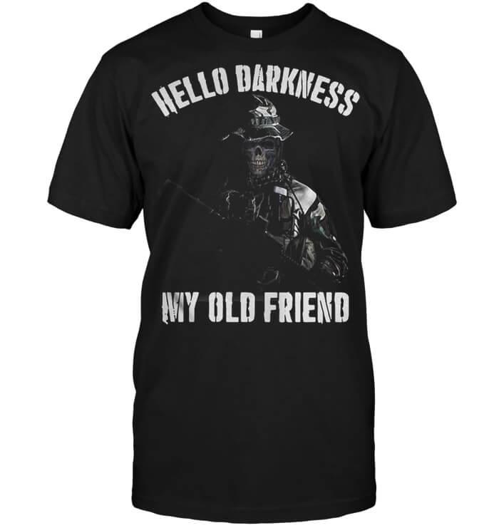 Veteran Hello Darkness My Old Friend